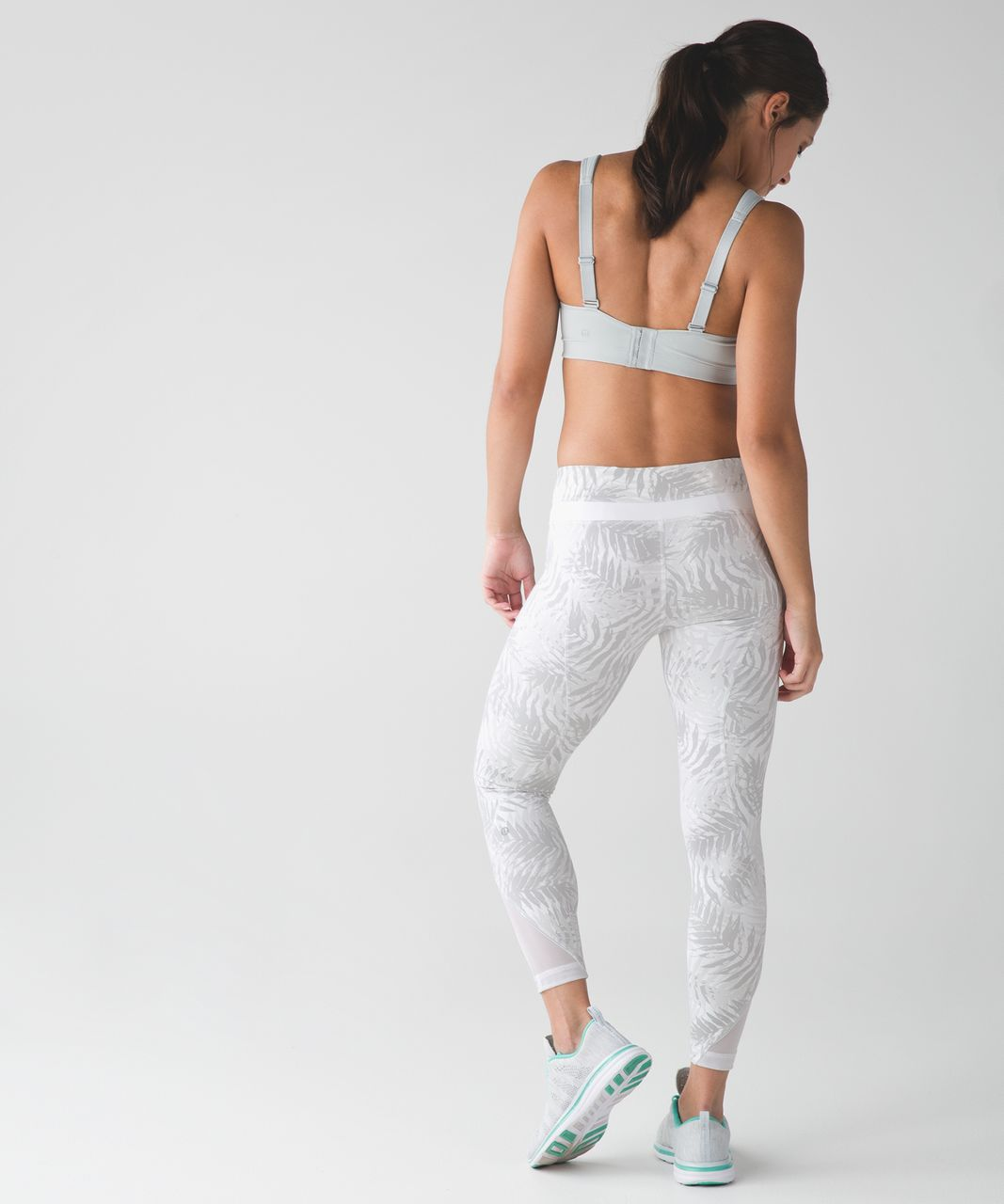 Lululemon Inspire Tight II - Palm Camo White Nimbus