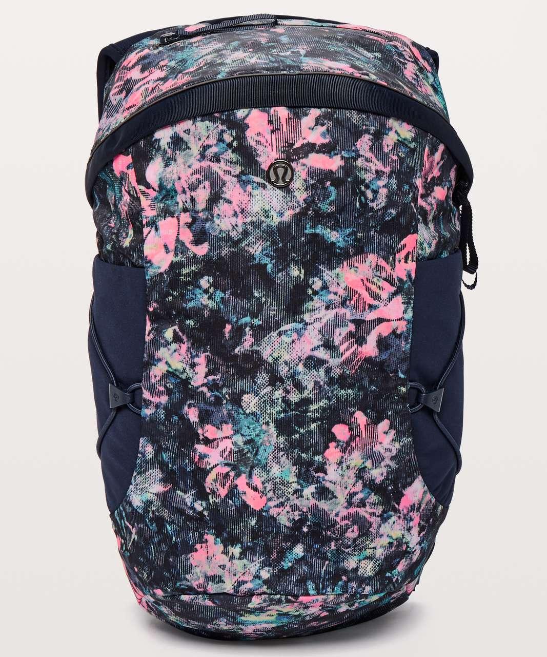 Lululemon Run All Day Backpack II *13L - Dappled Daze Multi / True Navy