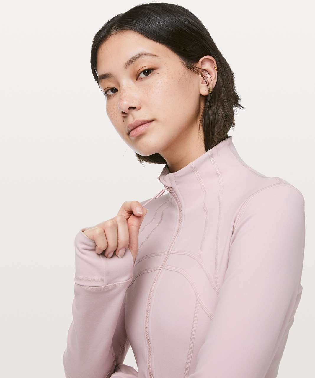 Lululemon Define Jacket - Porcelain Pink