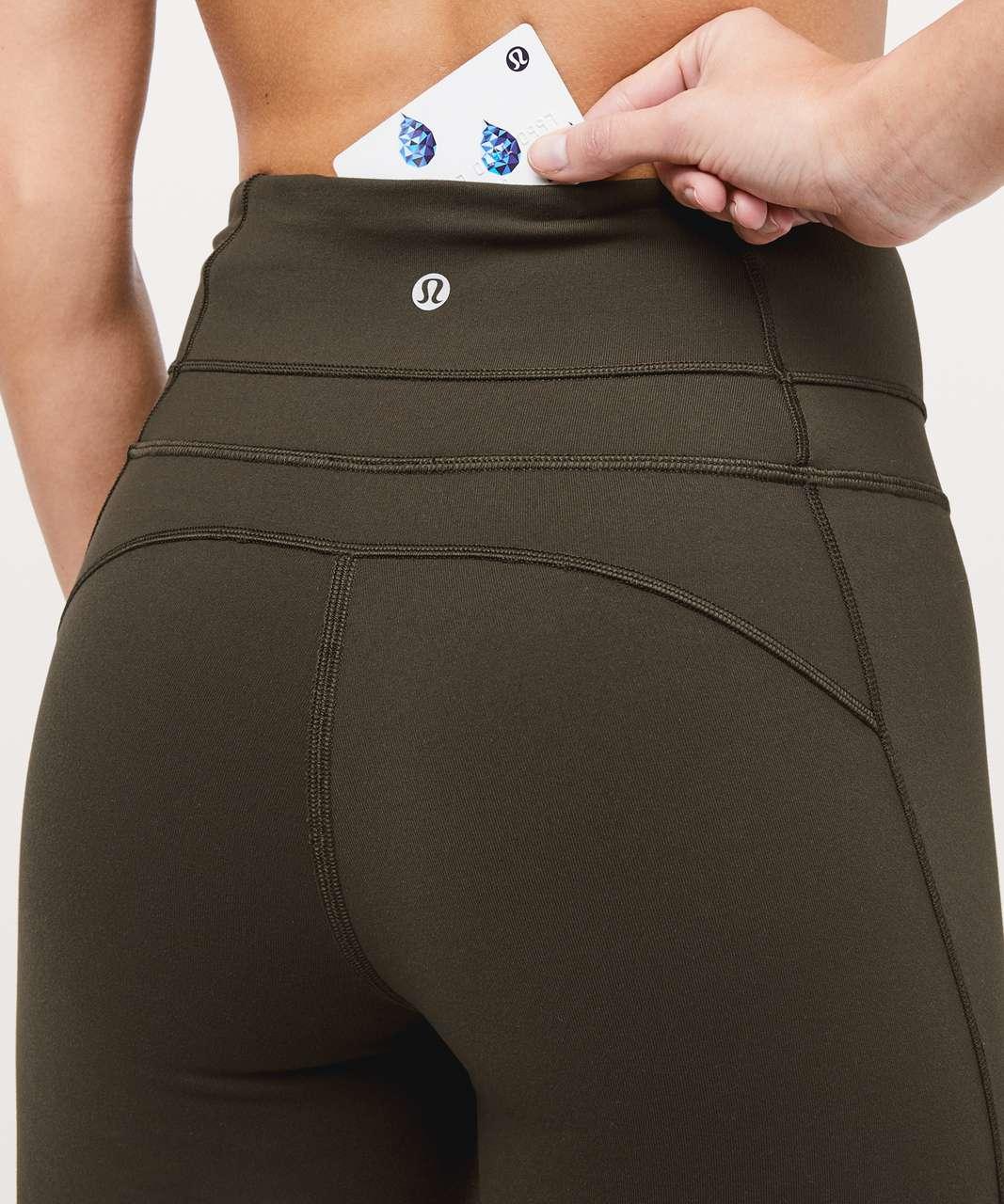 """Lululemon Groove Pant Flare *Full-On Luxtreme 32"""" - Dark Olive"""