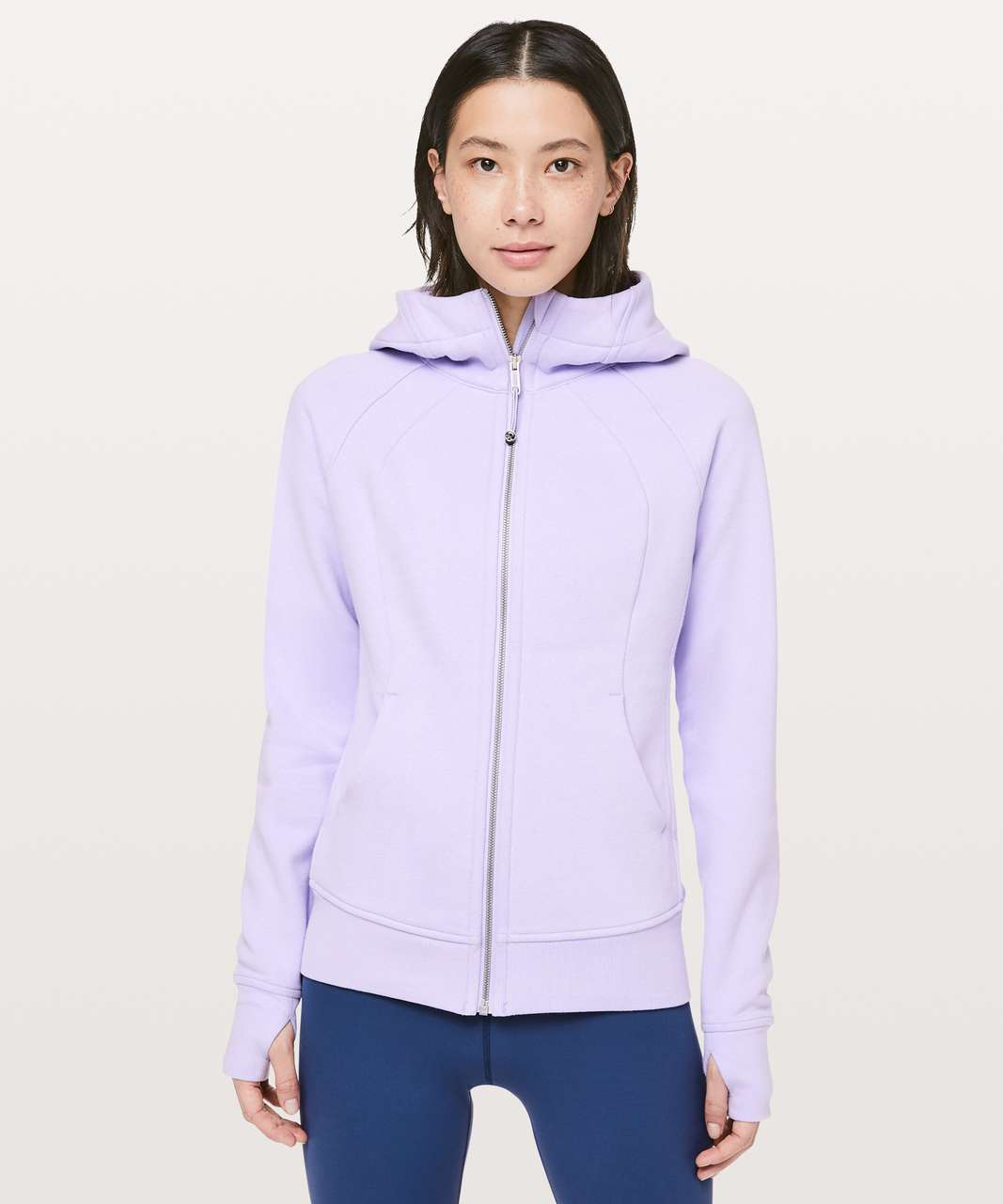Lululemon Scuba Hoodie *Light Cotton Fleece - Sheer Violet