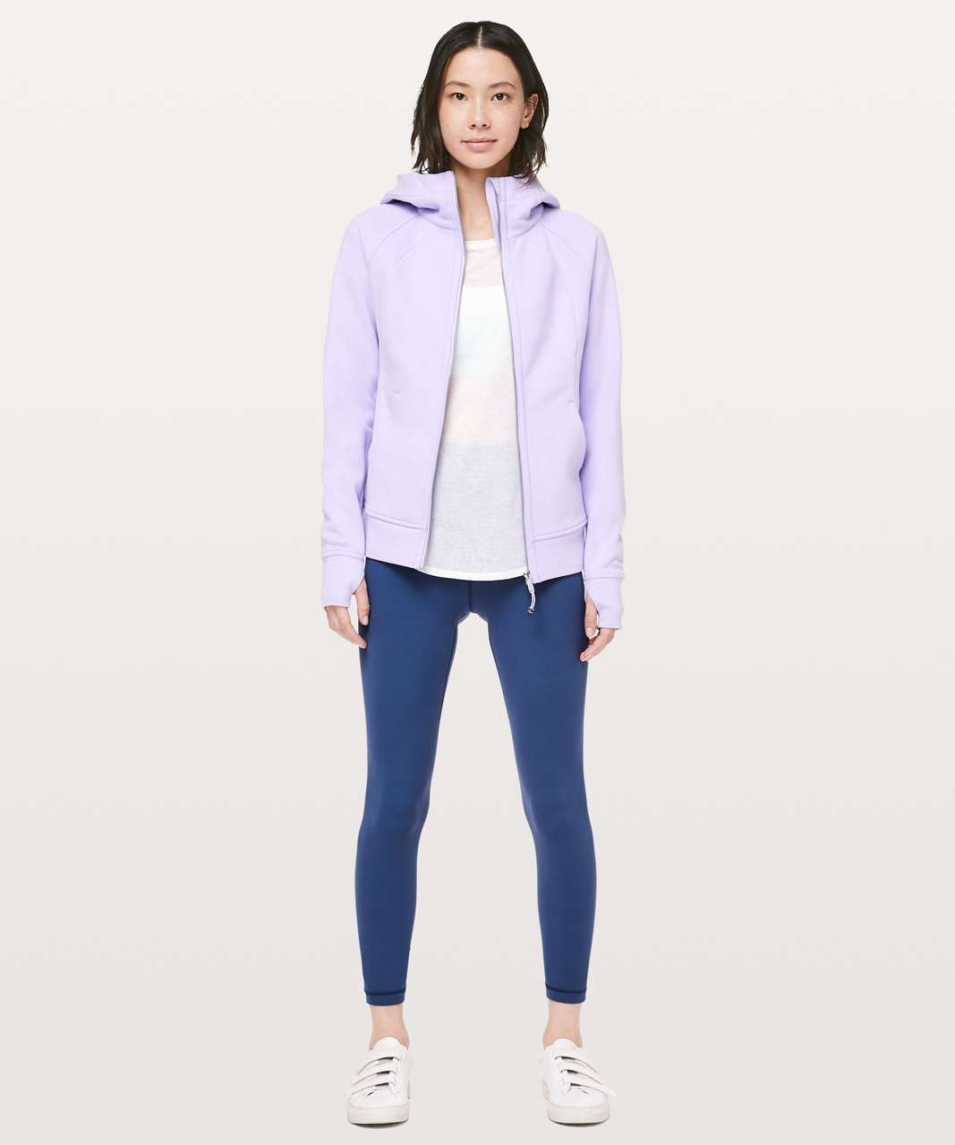 Lululemon Scuba Hoodie *Light Cotton Fleece - Sheer Violet