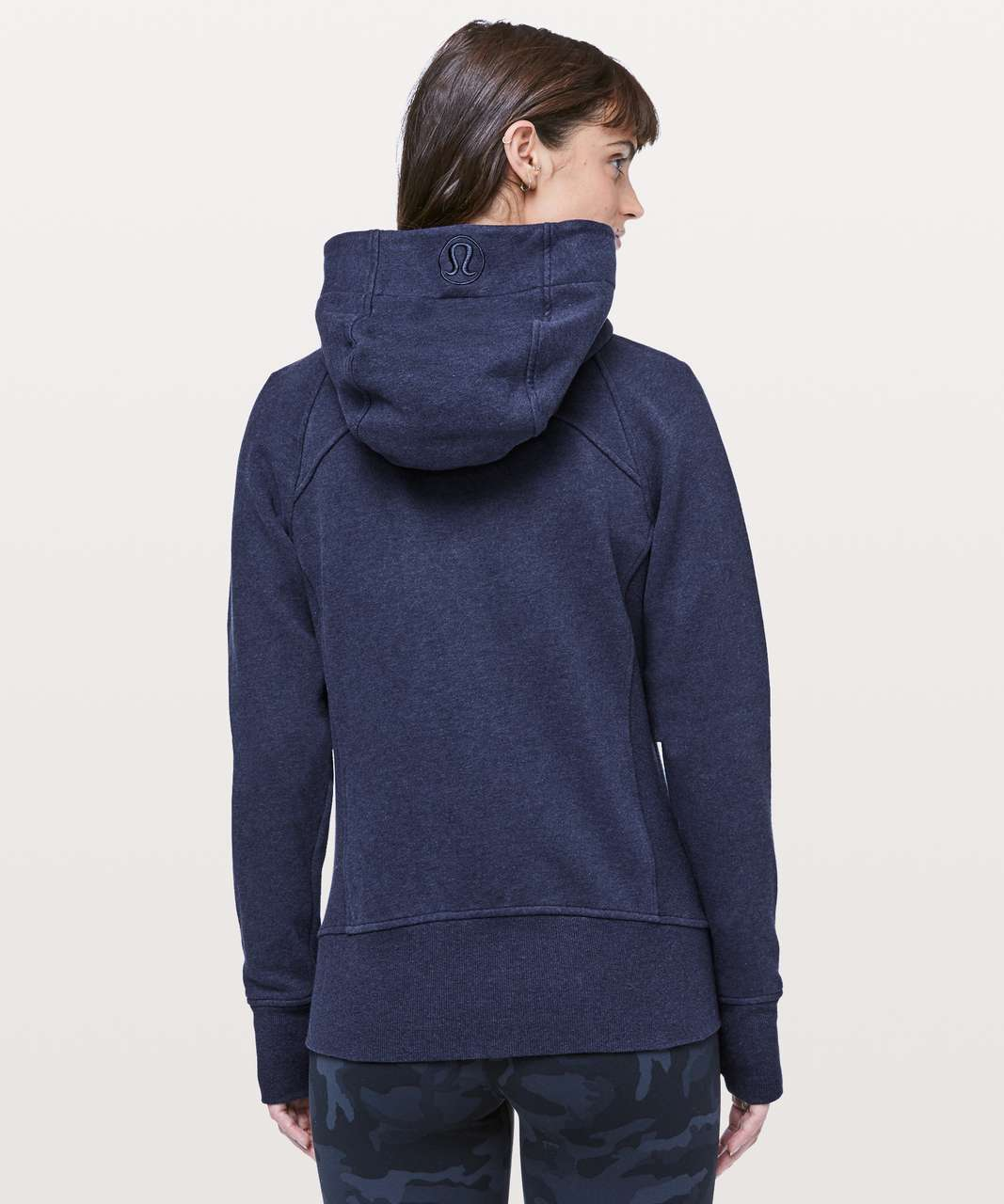 Lululemon Scuba Hoodie *Light Cotton Fleece - Heathered Hero Blue