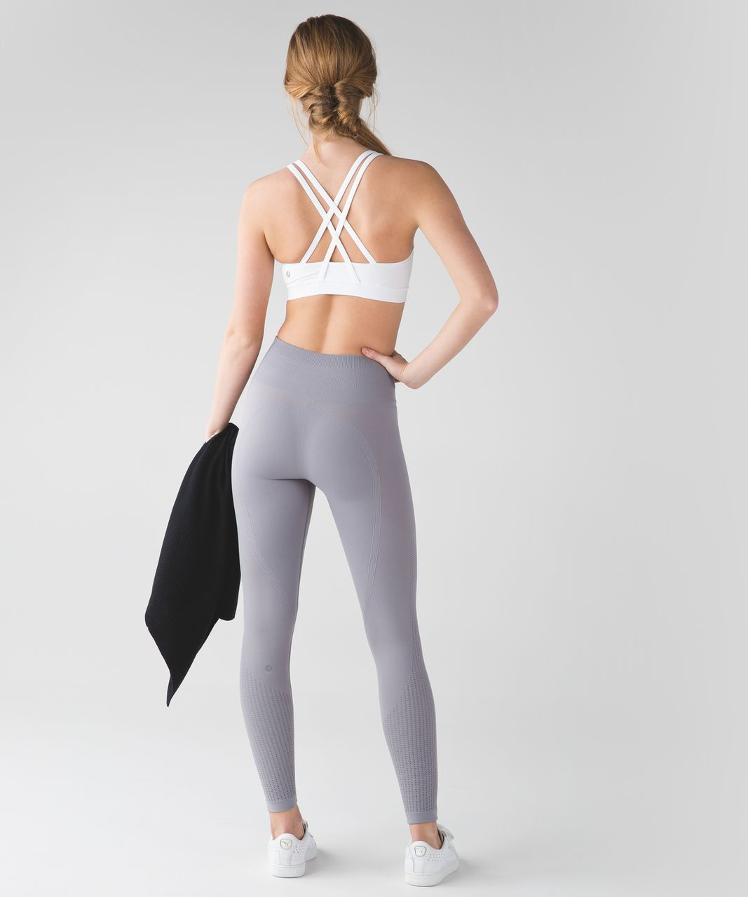 Lululemon Flow & Go Tight - Battleship