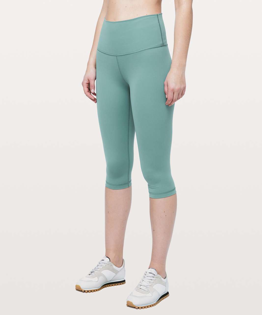 "Lululemon Wunder Under High-Rise 1/2 Tight Full-On Luxtreme 17"" - Frosted Pine"