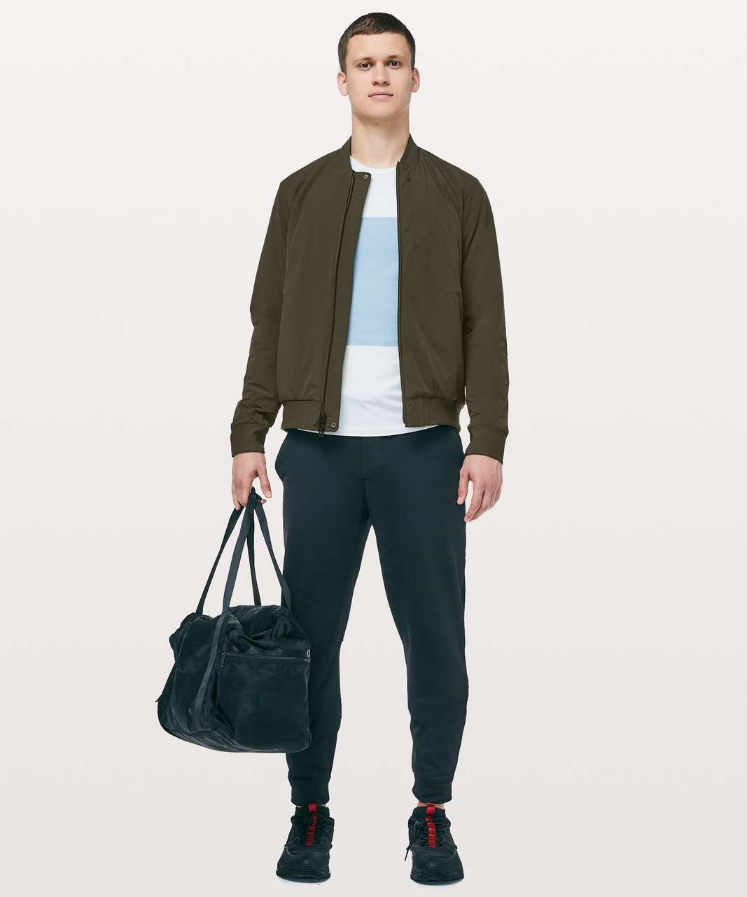 Lululemon Switch Over Bomber - Dark Olive
