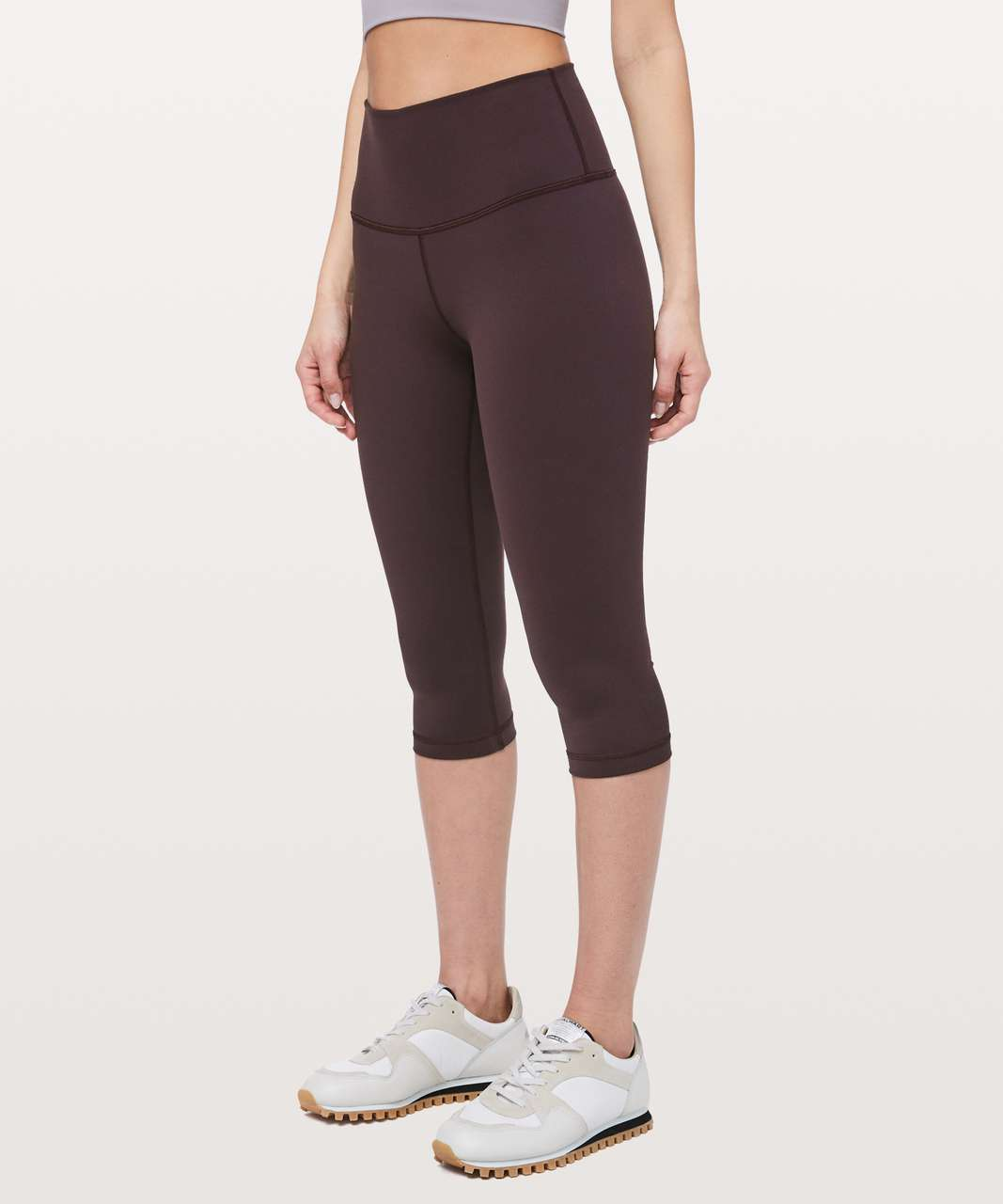 "Lululemon Wunder Under High-Rise 1/2 Tight Full-On Luon 17"" - Plum Shadow"
