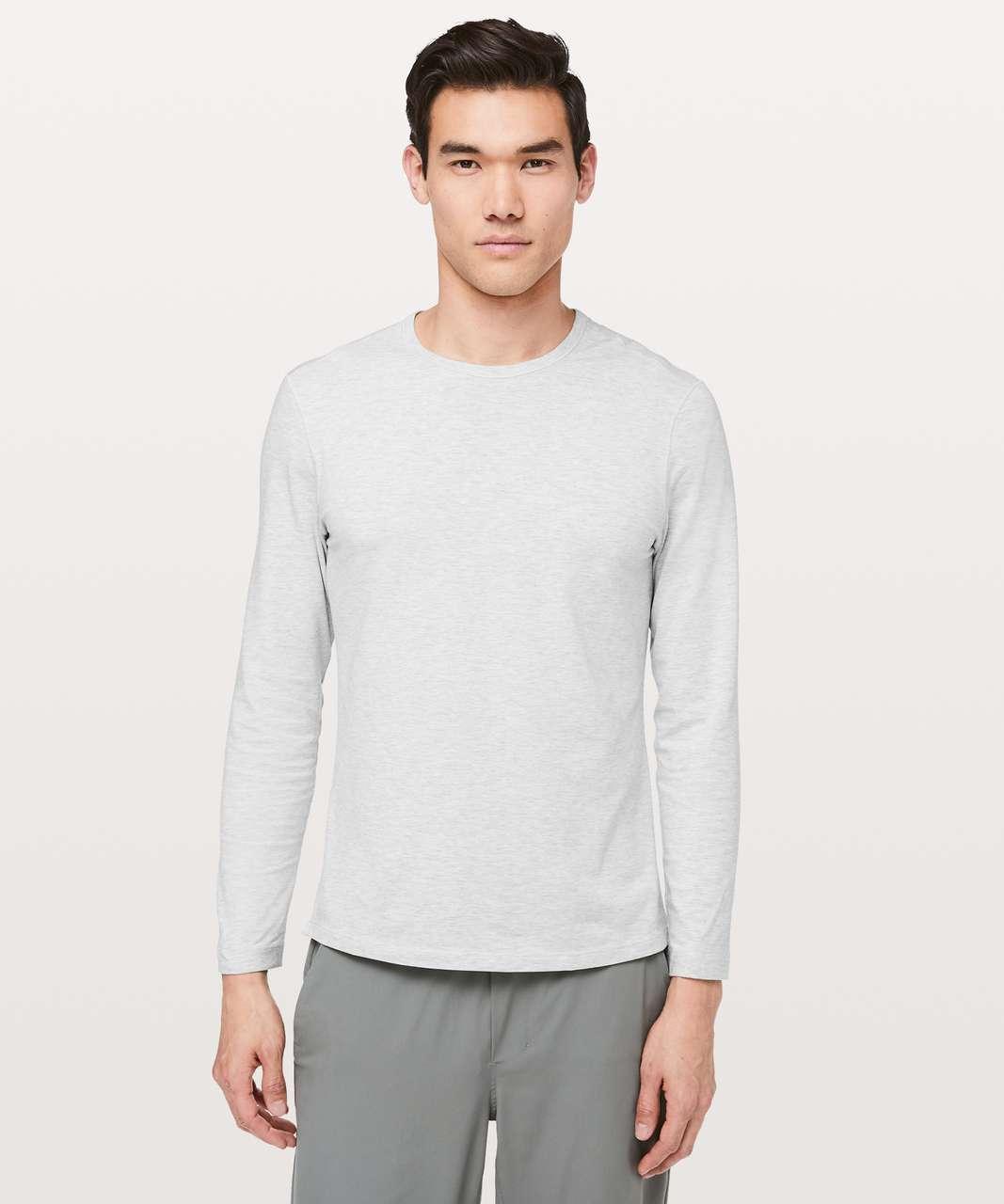 Lululemon 5 Year Basic Long Sleeve - Heathered Core Ultra Light Grey
