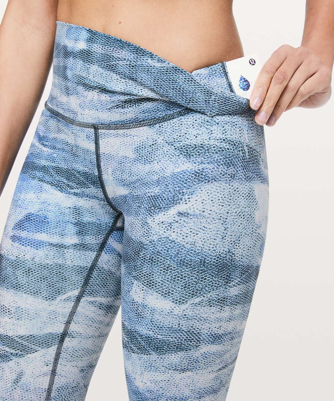 "Lululemon Wunder Under High-Rise 7/8 Tight *Full-On Luxtreme 25"" - Mesh Scape Multi"