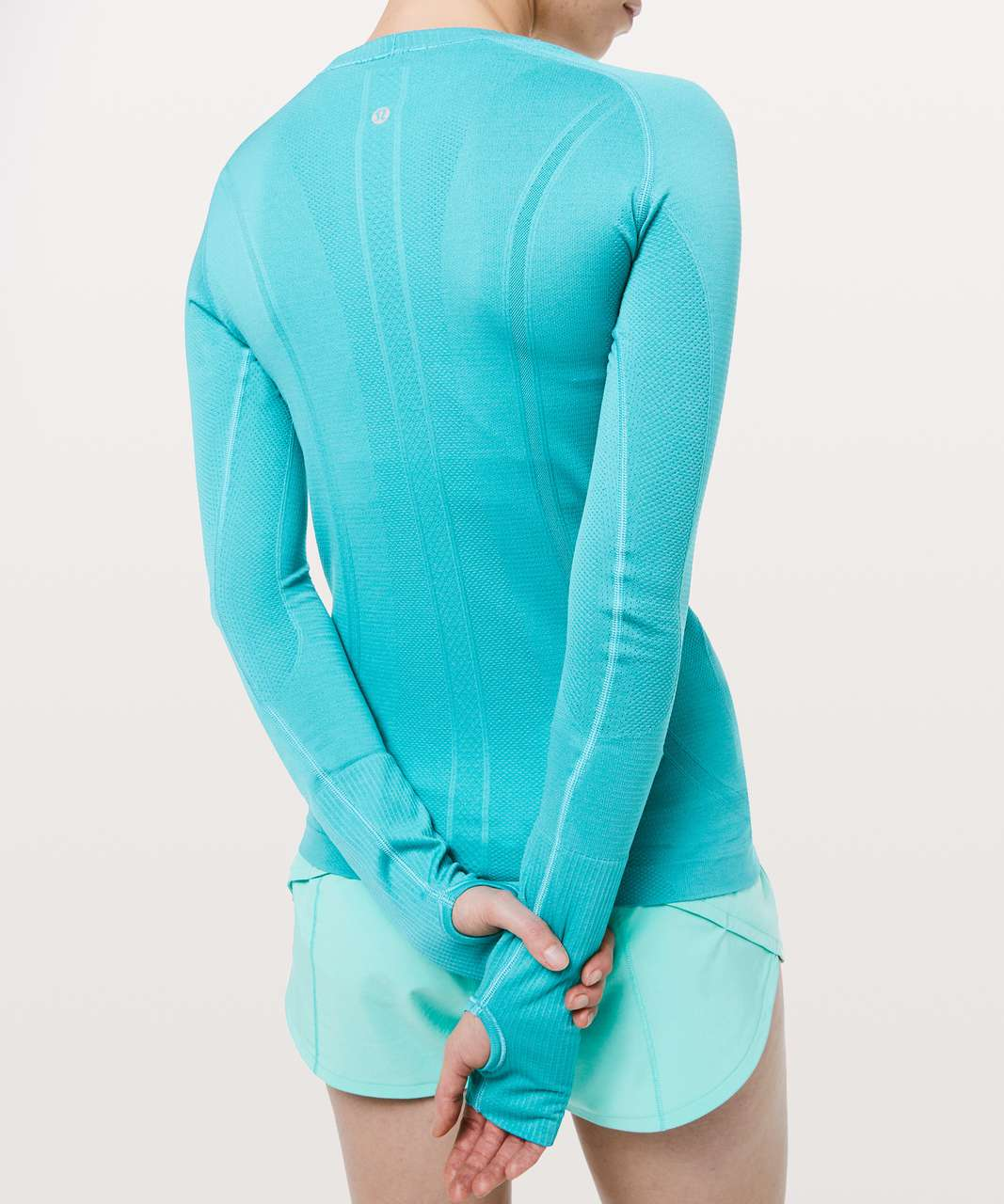 Lululemon Swiftly Tech Long Sleeve Crew - Amazonite / Amazonite