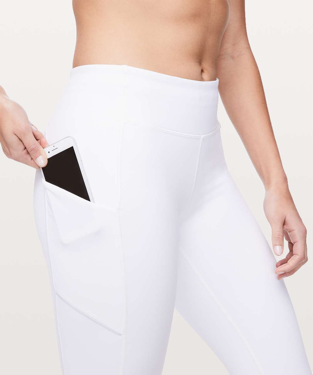 "Lululemon Speed Up Tight *28"" - White"