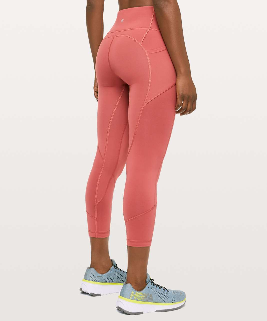 "Lululemon All The Right Places Crop II *23"" - Brick Rose"