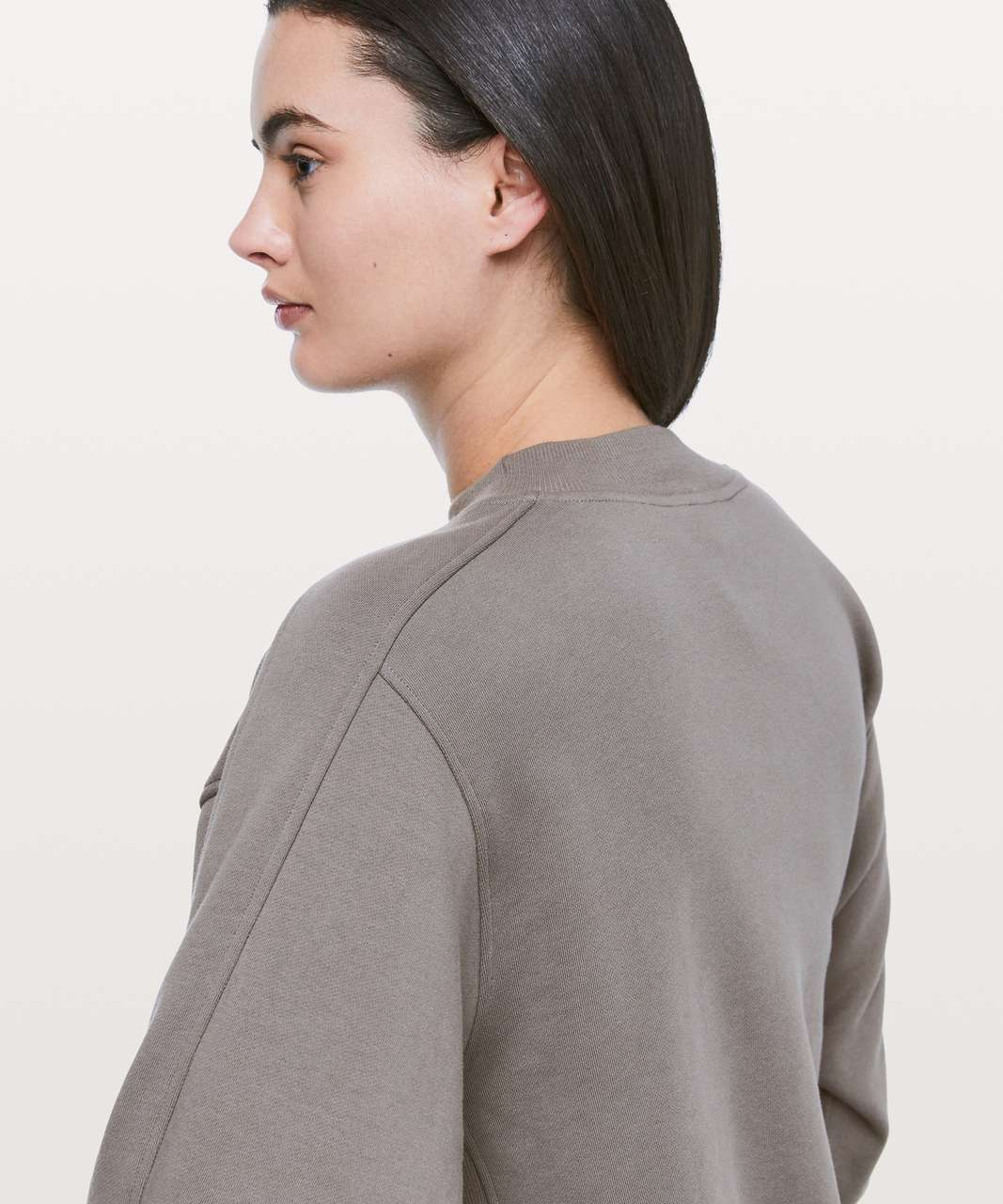 Lululemon Chill On Pullover - Carbon Dust