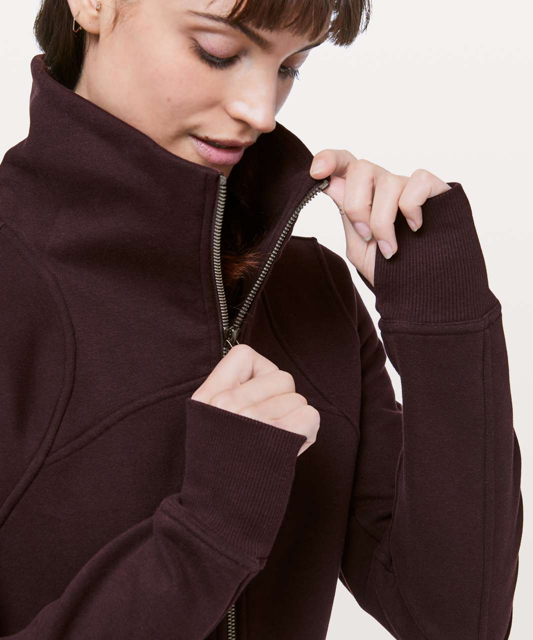 Lululemon Moving Meditation Jacket - Plum Shadow