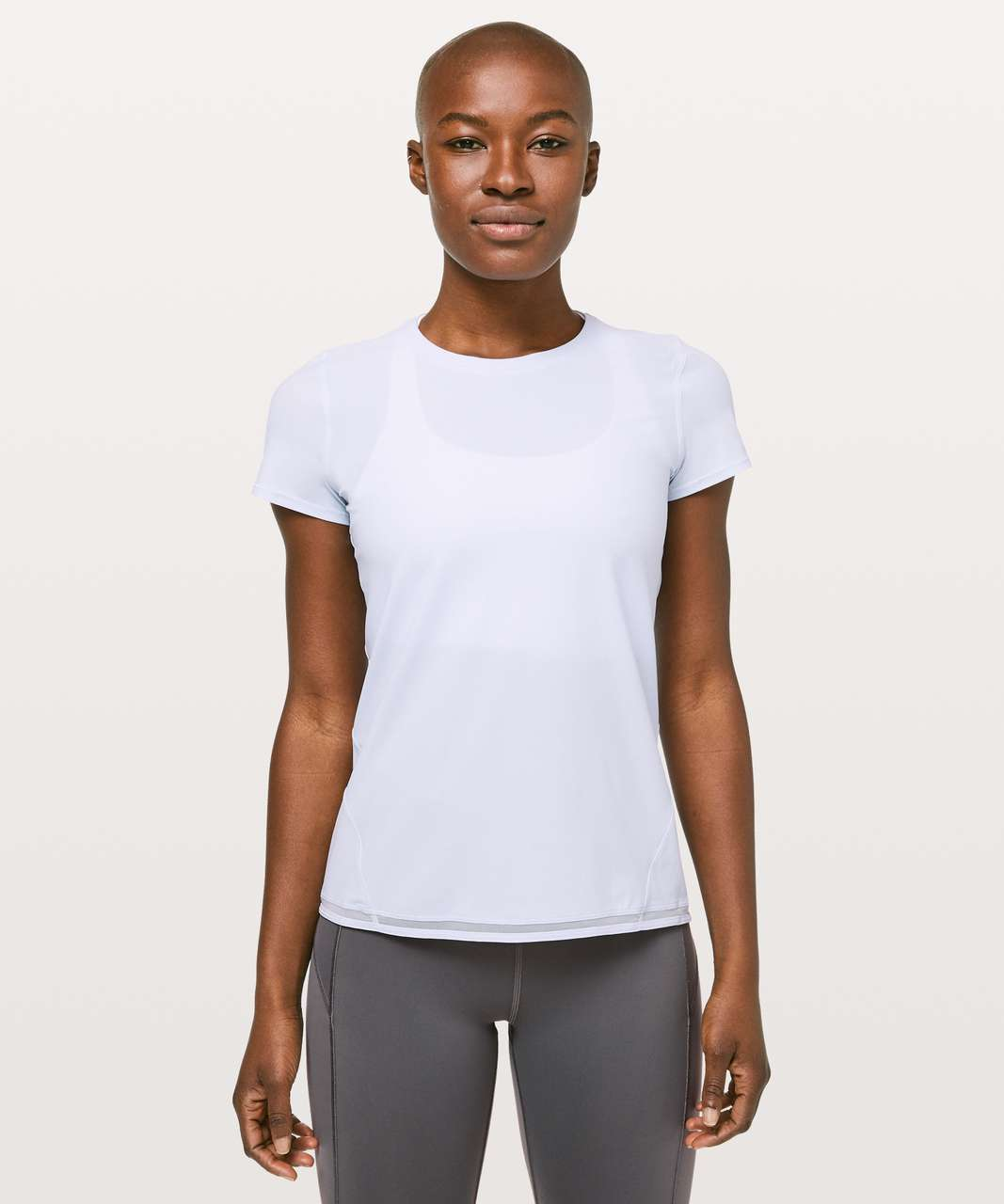 Lululemon Into the Sun Short Sleeve - Serene Blue