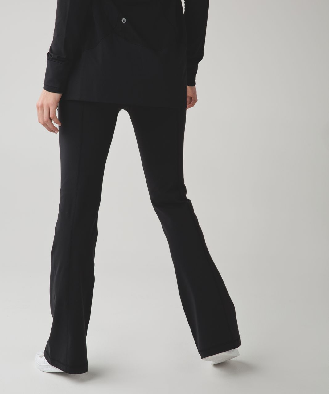 Lululemon Groove Pant III (Regular) - Black / Tonka Stripe Black White