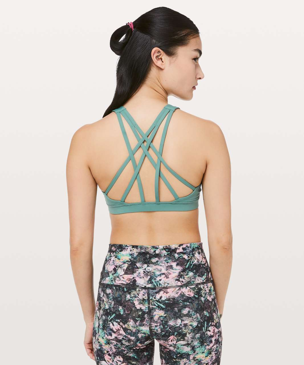 Lululemon Free To Be Serene Bra *High Neck - Frosted Pine