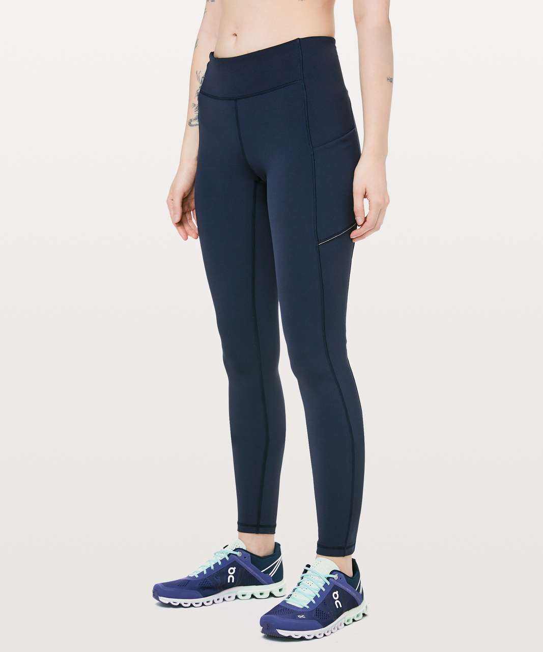 "Lululemon Speed Up Tight Tall 31"" - True Navy"