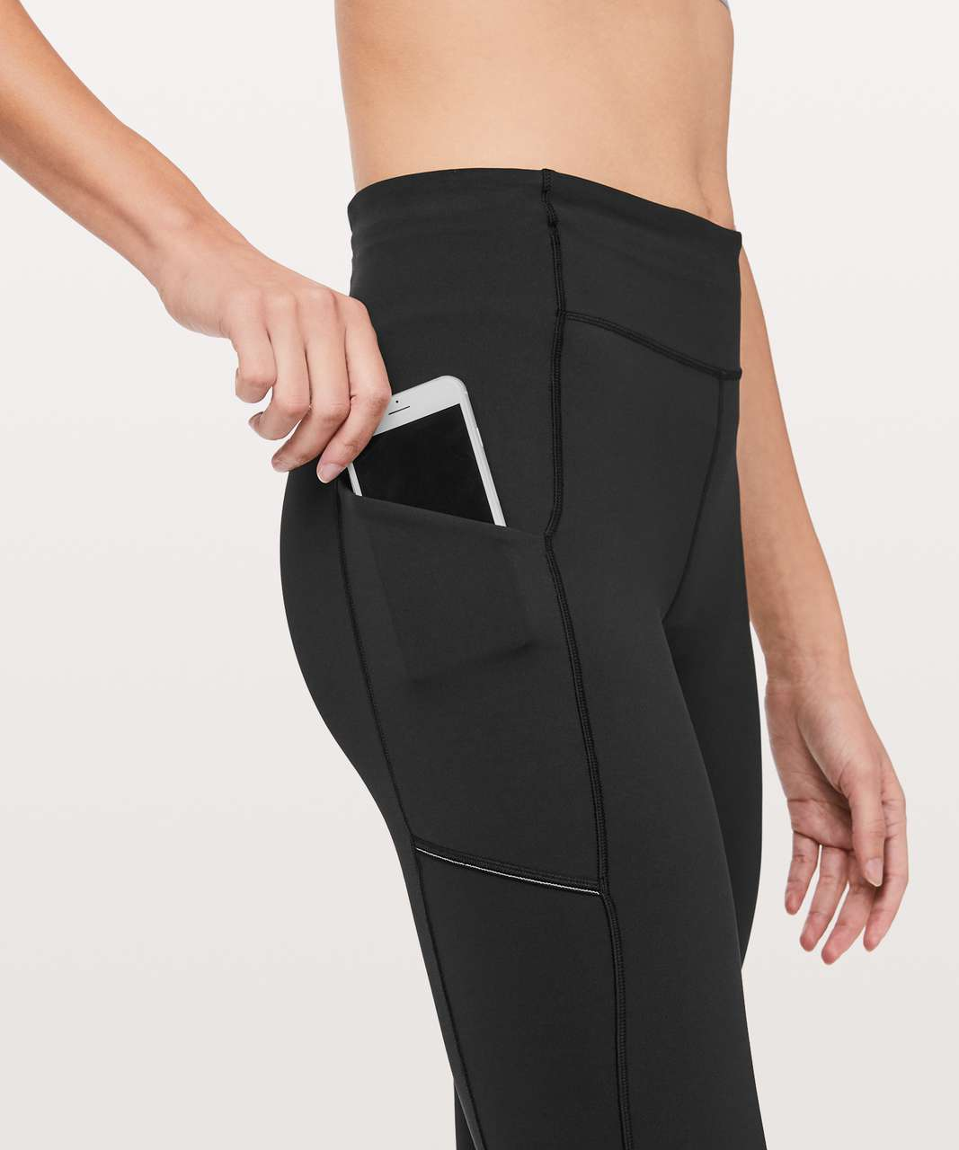 "Lululemon Speed Up Tight Tall 31"" - Black"
