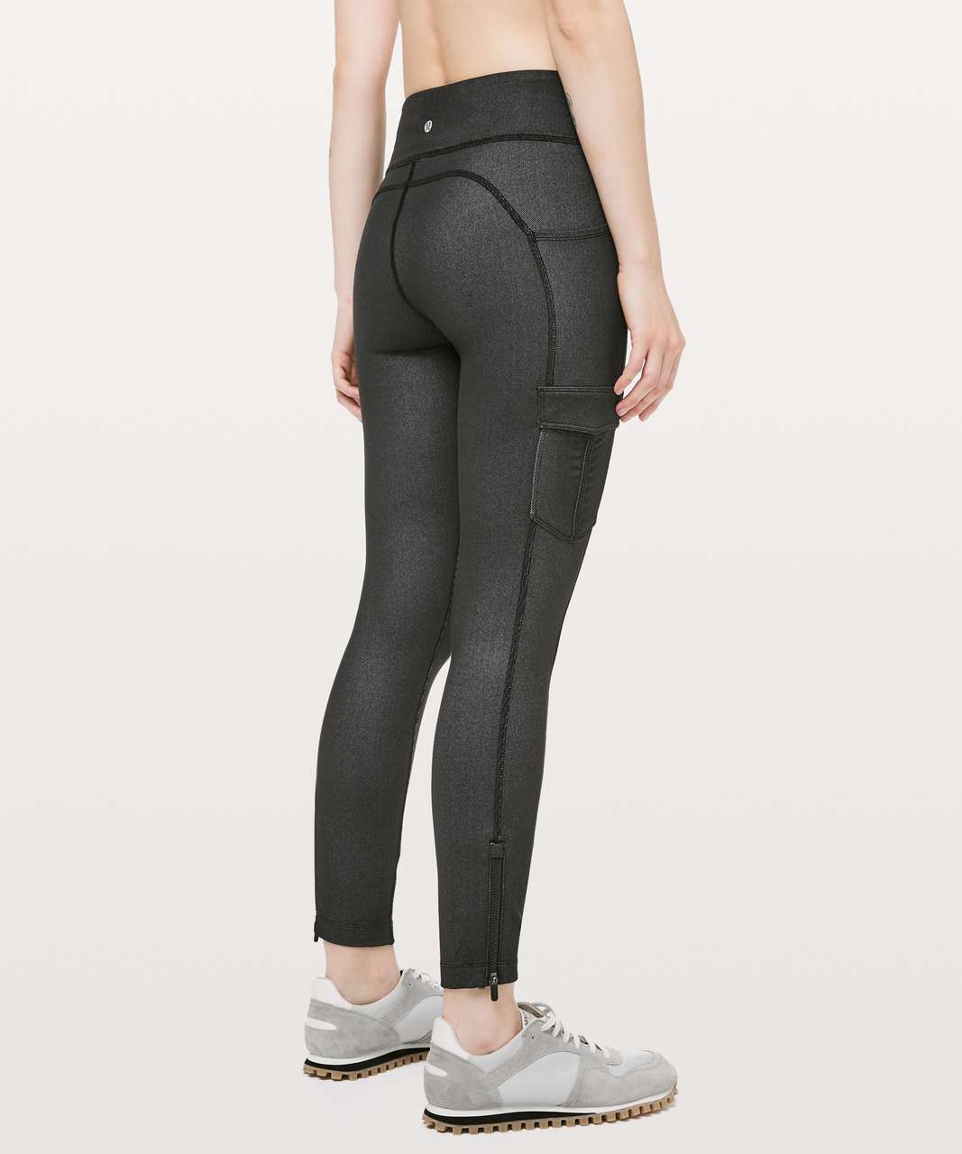 "Lululemon Scenic Route 7/8 Tight *25"" - Black"