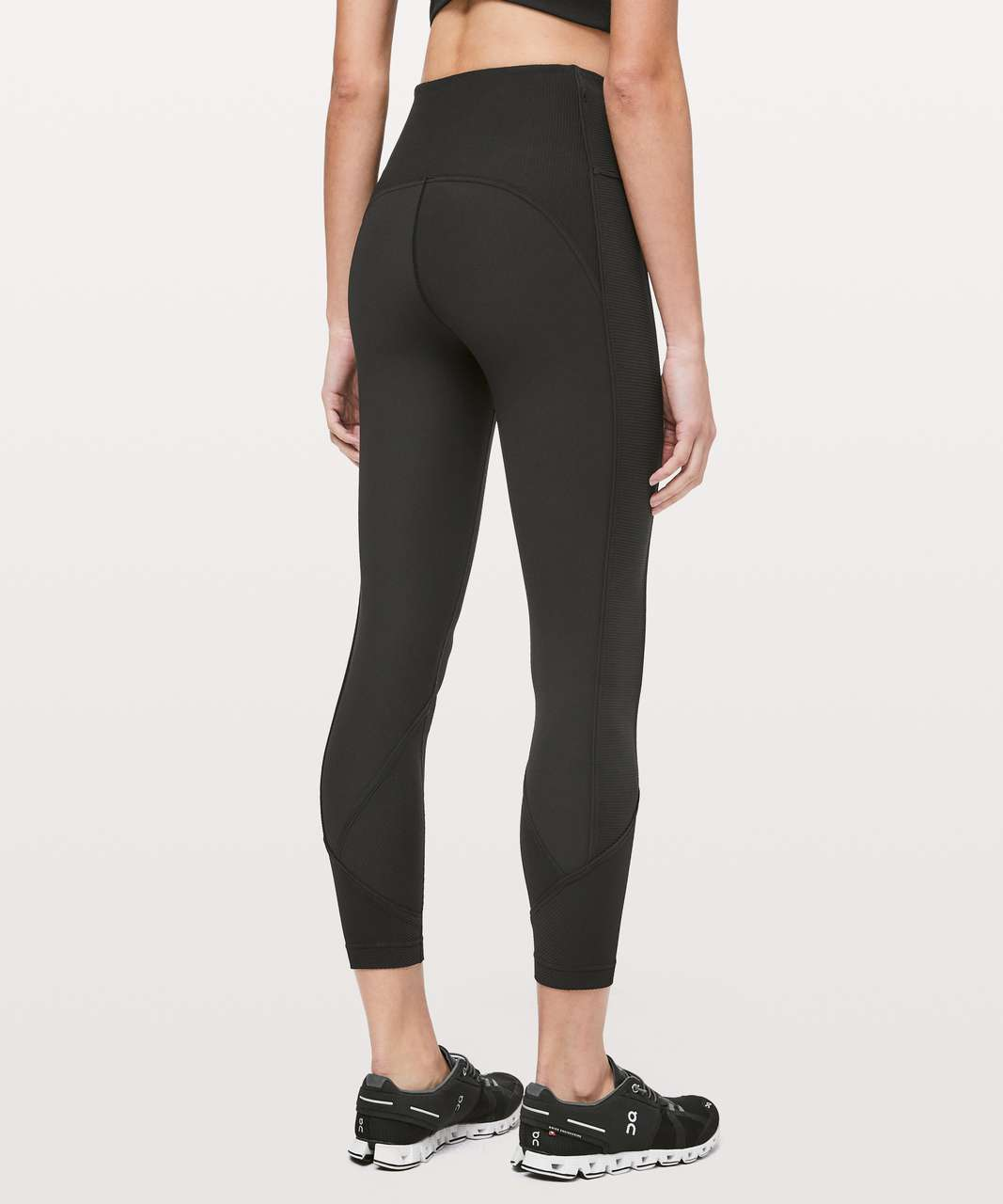 "Lululemon Daily Lineup 7/8 Tight *25"" - Black"
