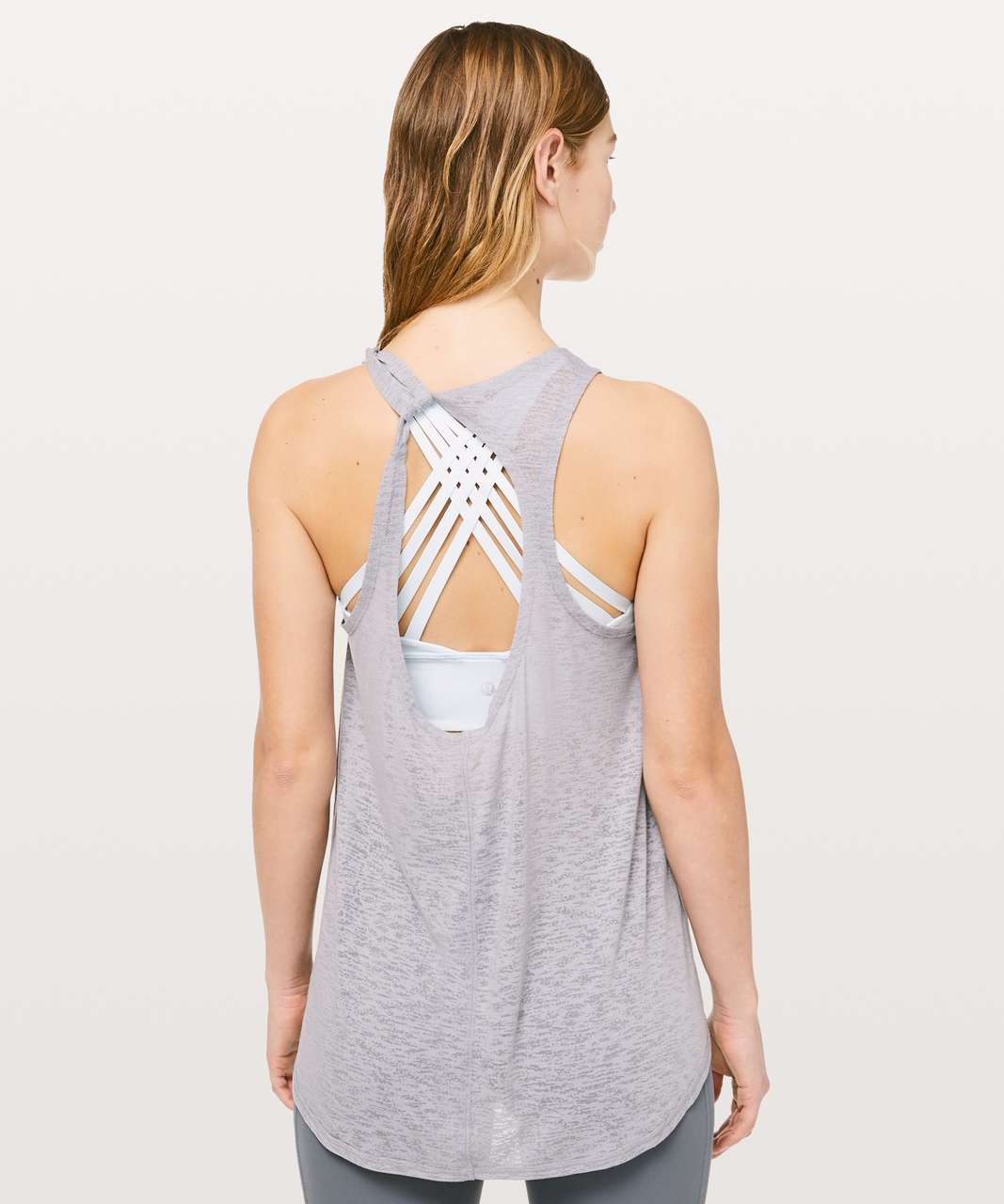 Lululemon Circle Back To It Tank - Silverscreen