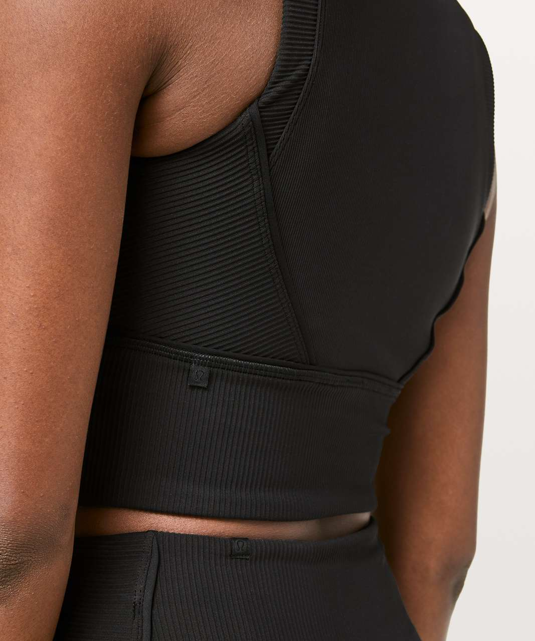 Lululemon Kick Serve Bra Texture - Black