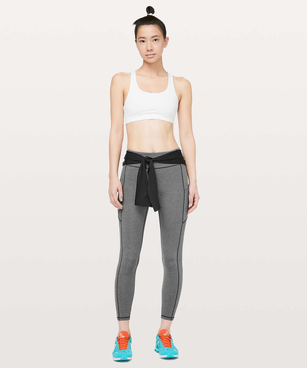 Lululemon Speed Up 7/8 Tight - Heathered Black