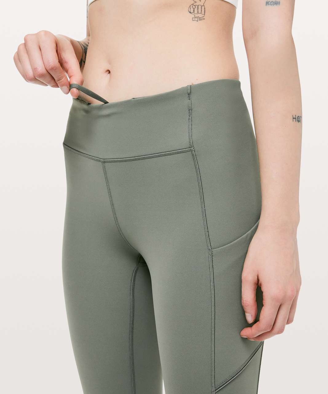 Lululemon Speed Up 7/8 Tight - Grey Sage