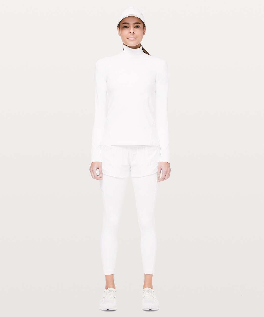 Lululemon Speed Up 7/8 Tight - White
