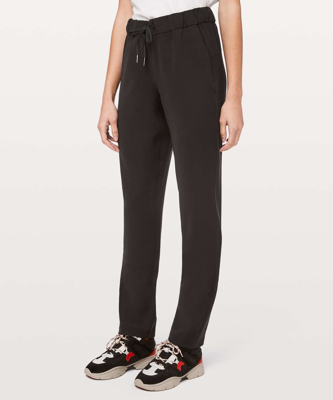 "Lululemon On The Fly Pant Woven Tall 33"" - Black"