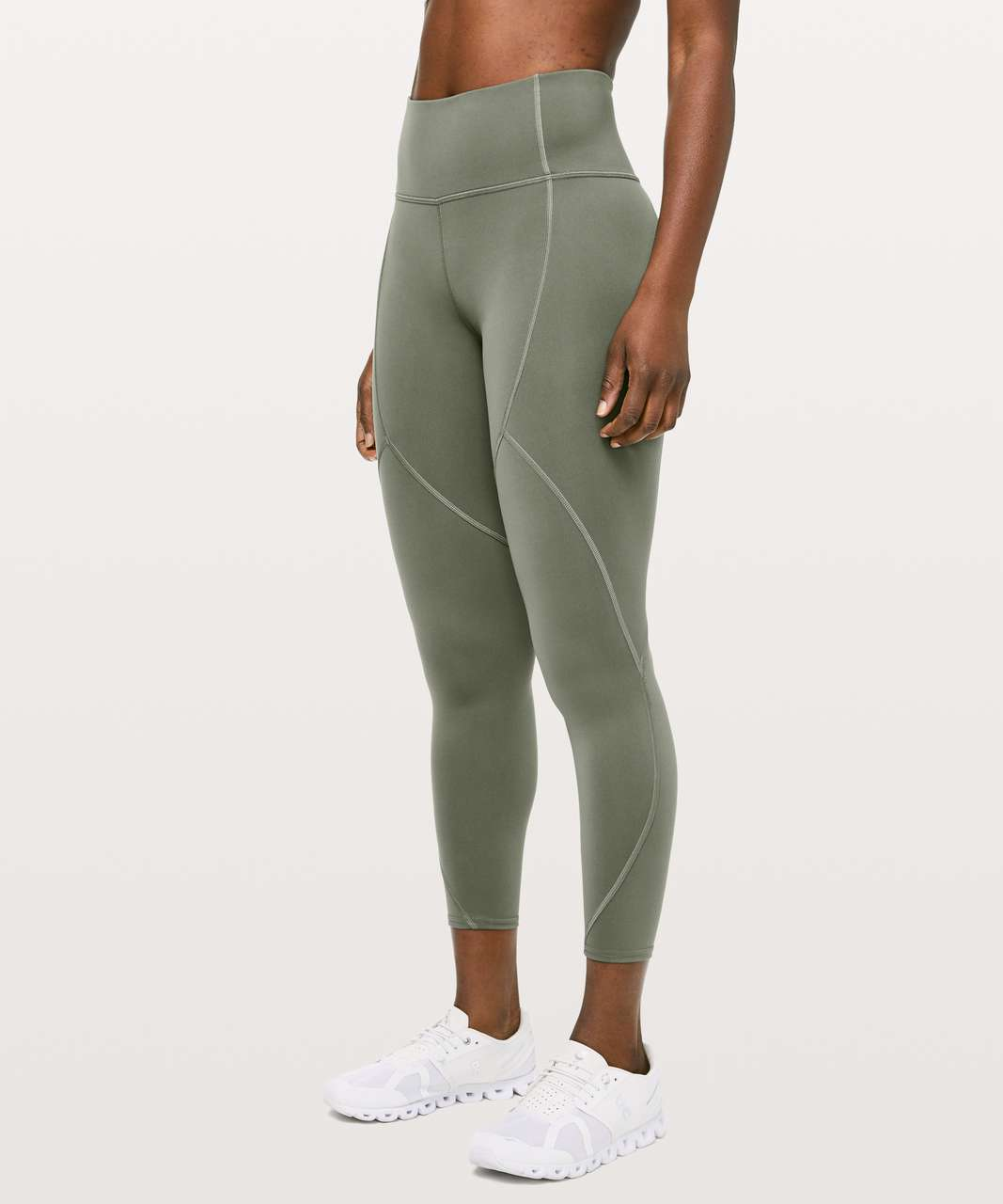 "Lululemon To The Beat Tight *24"" - Grey Sage"