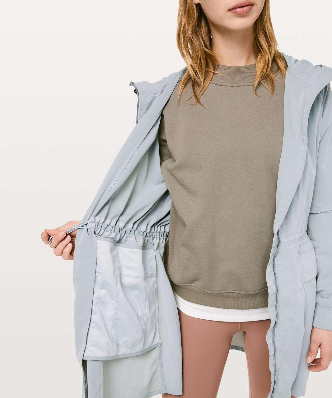 Lululemon Pack & Glyde Jacket - Silver Drop