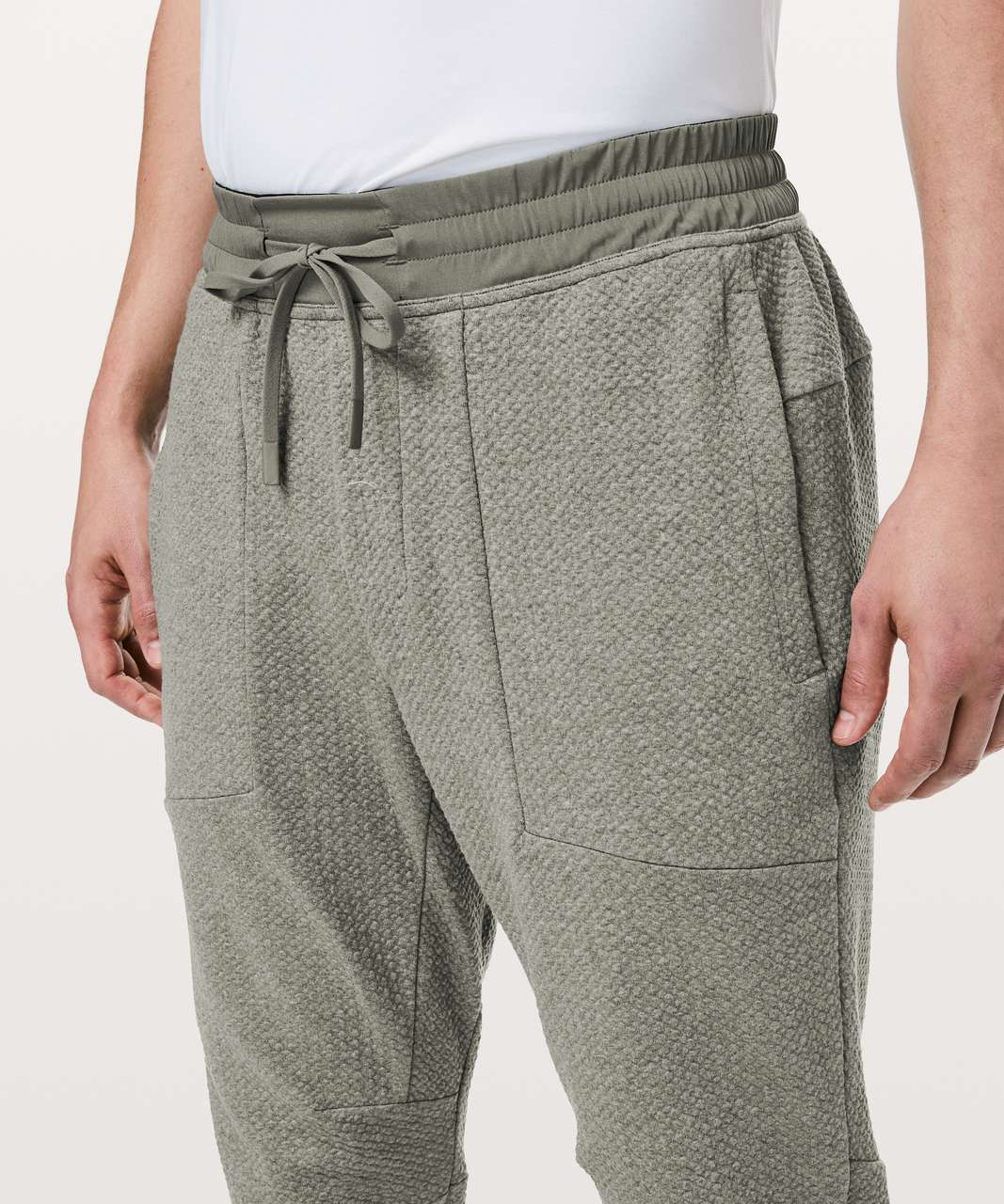 Lululemon At Ease Jogger - Heathered Grey Sage