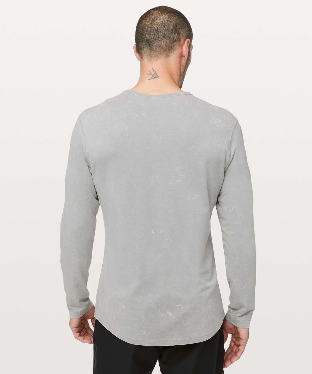 Lululemon 5 Year Basic Long Sleeve *Mineral Wash - Mineral Washed Light Cast