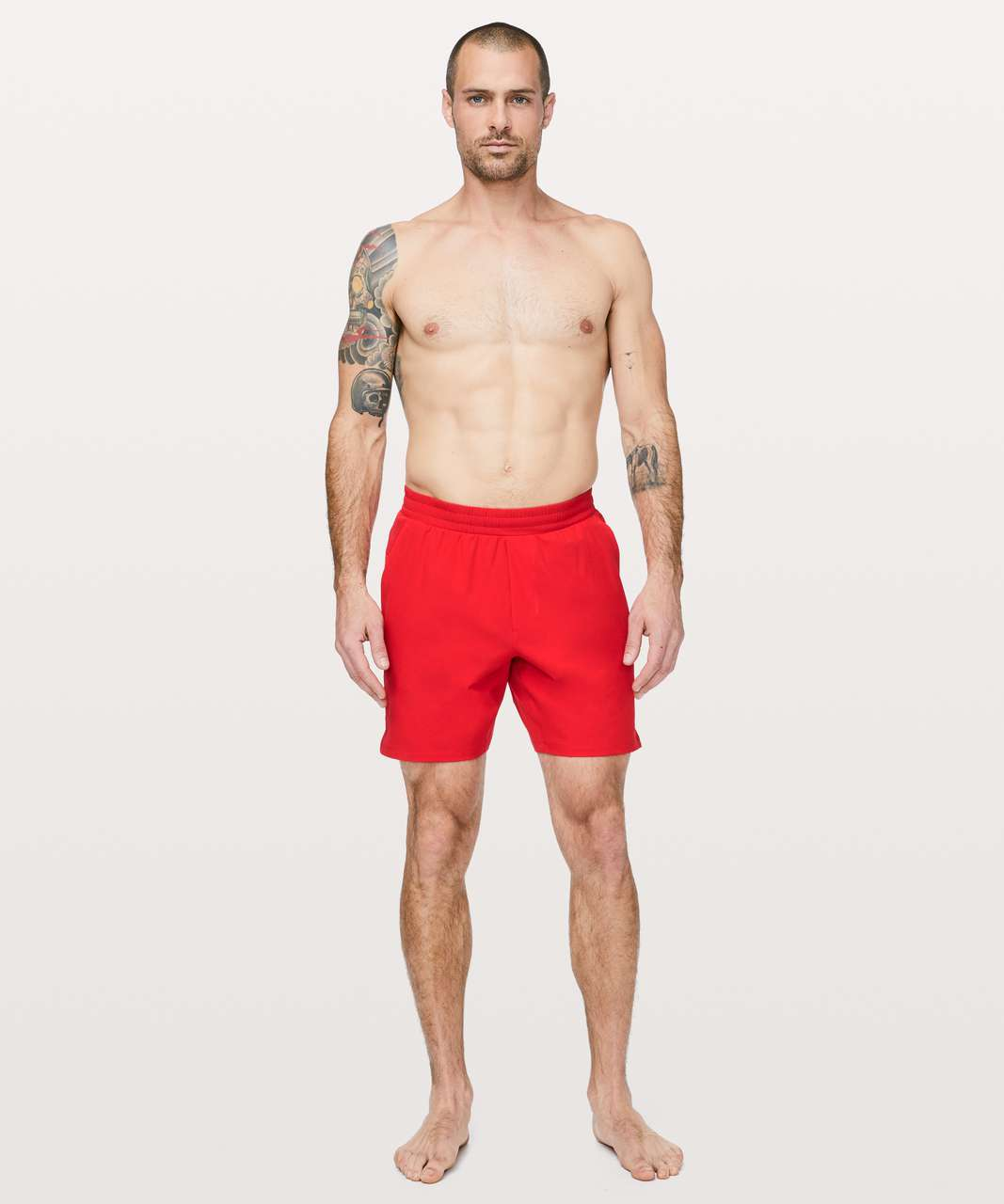 "Lululemon Channel Cross Swim Short *7"" - Spicy Red"