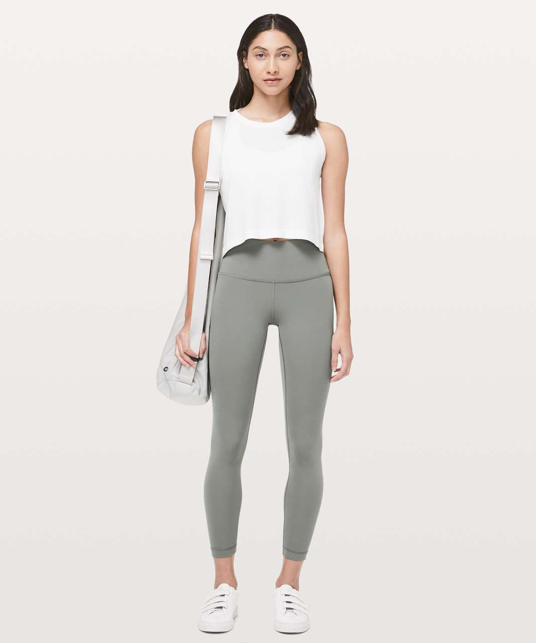 "Lululemon Wunder Under High-Rise 7/8 Tight *Full-On Luxtreme 25"" - Grey Sage"
