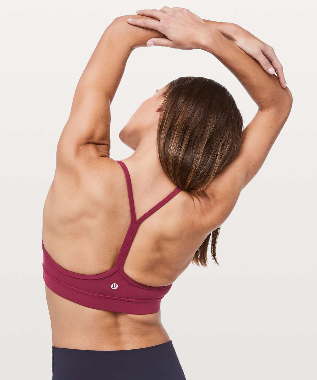 Lululemon Flow Y Bra *Nulu - Star Ruby