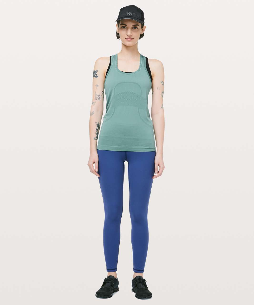 Lululemon Swiftly Tech Racerback - Frosted Pine / Frosted Pine