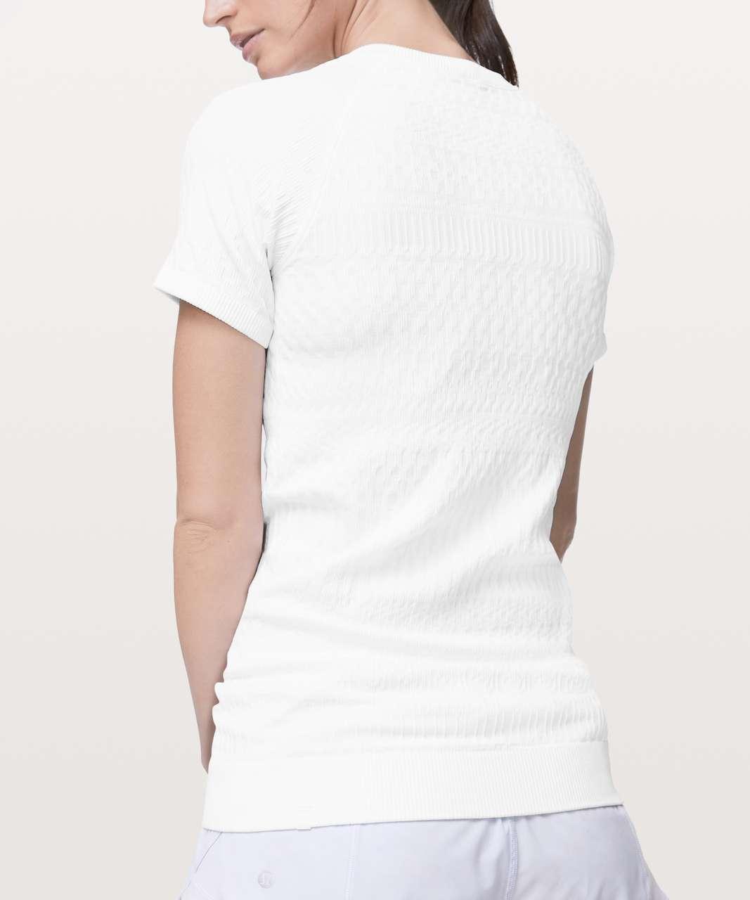 Lululemon Rest Less Short Sleeve - White / White
