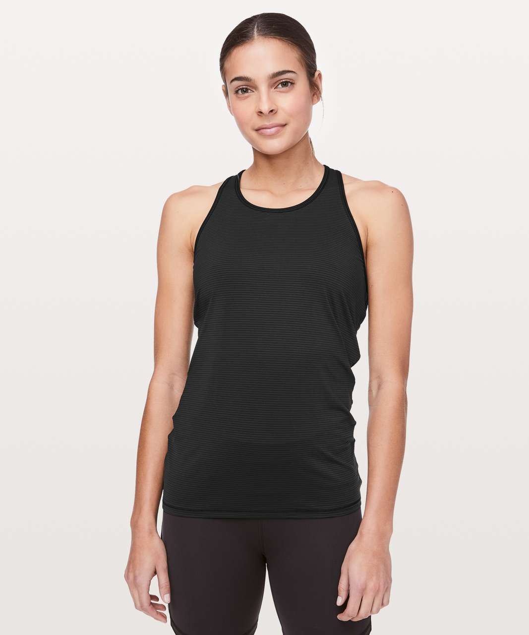 Lululemon Ruche Of Adrenaline Tank - Black
