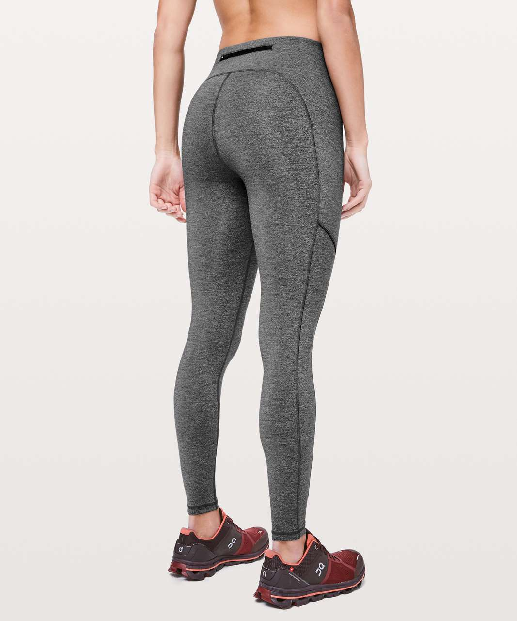 "Lululemon Speed Up Tight *28"" - Heathered Black"