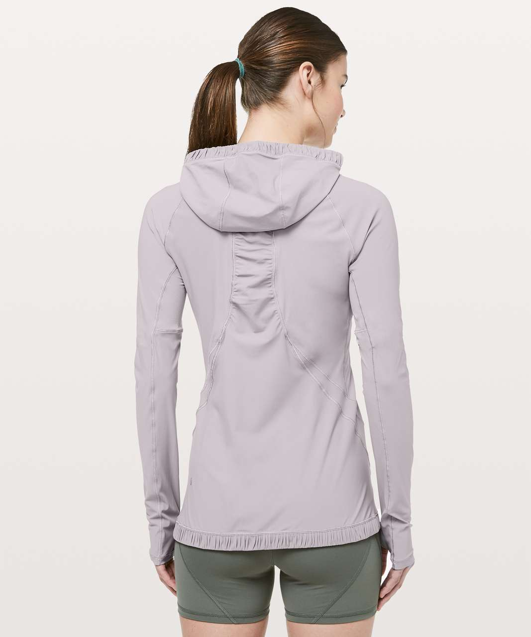 Lululemon Water Bound Hoodie - Dark Chrome
