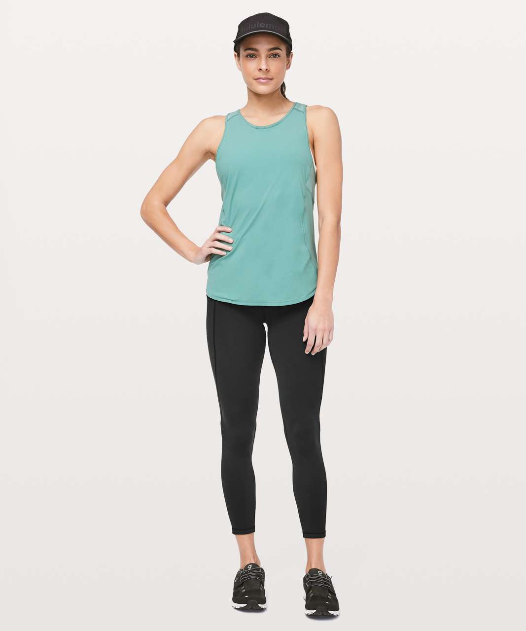 "Lululemon Time To Sweat 7/8 Tight 25"" - Black"