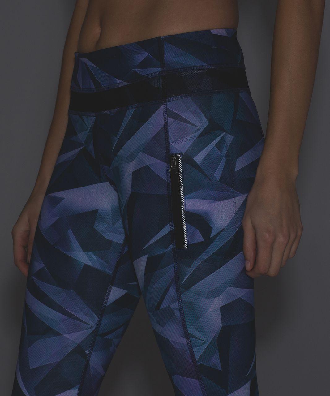 Lululemon Inspire Tight II (Mesh) - Pretty Prism Multi / Black