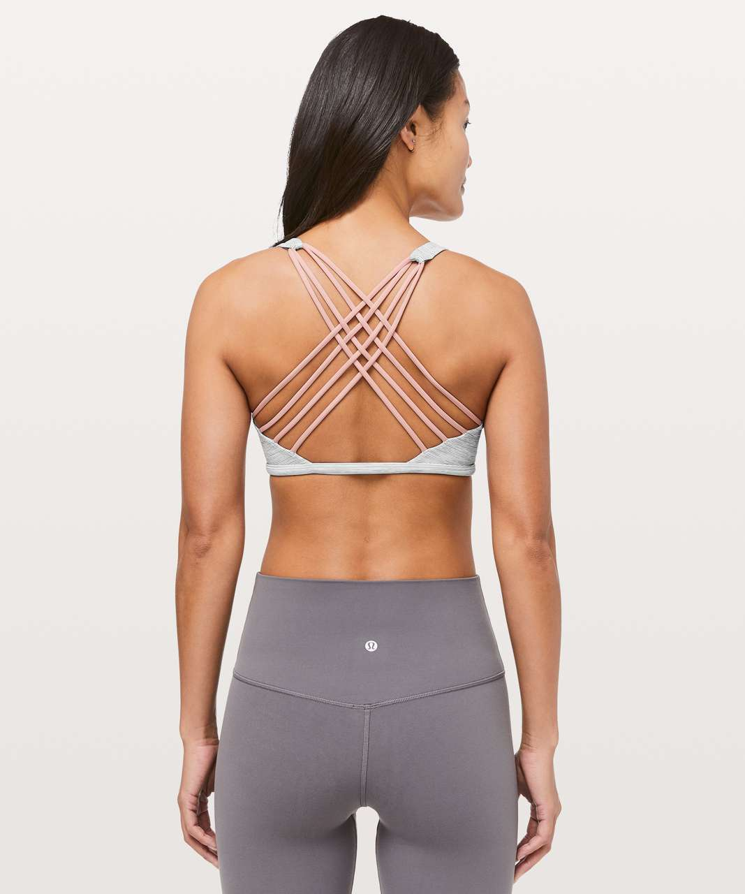 Lululemon Free To Be Bra (Wild) - Wee Are From Space Nimbus Battleship / Faint Coral