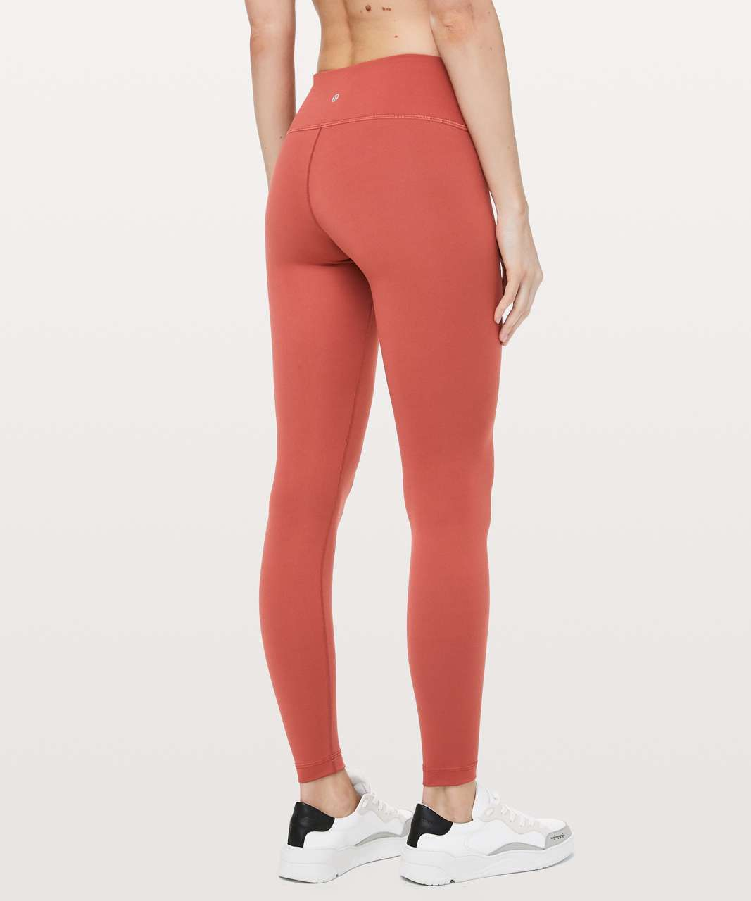"Lululemon Wunder Under Low-Rise Tight * Full-On Luxtreme 28"" - Brick Rose"