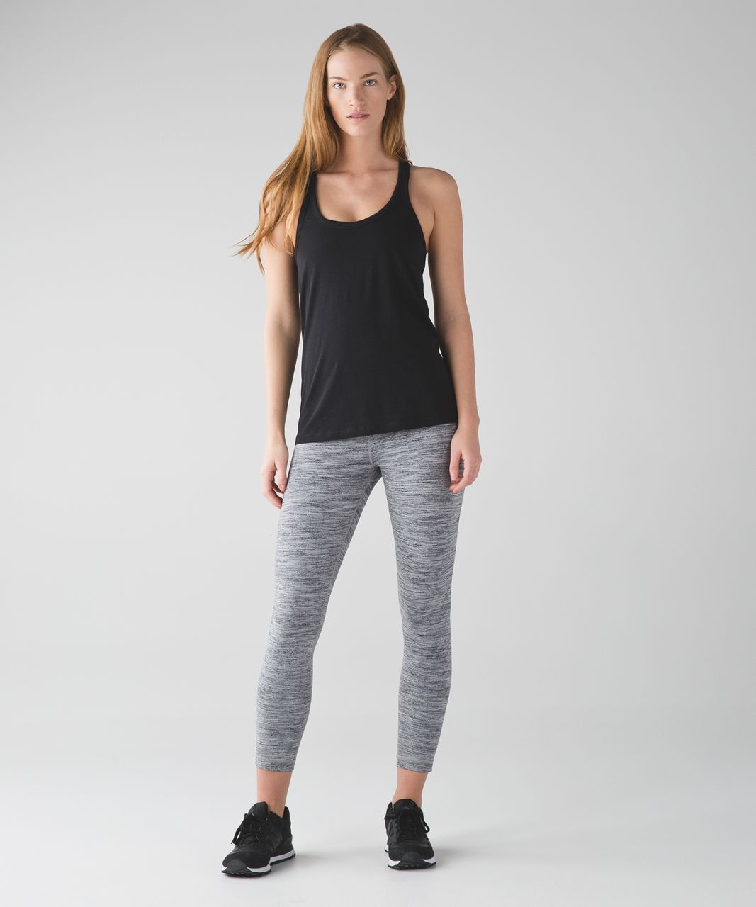 Lululemon High Times Pant - Space Dye Camo Seal Grey Deep Coal