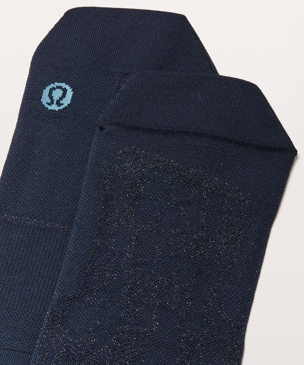 Lululemon Surge Sock *Silver - True Navy