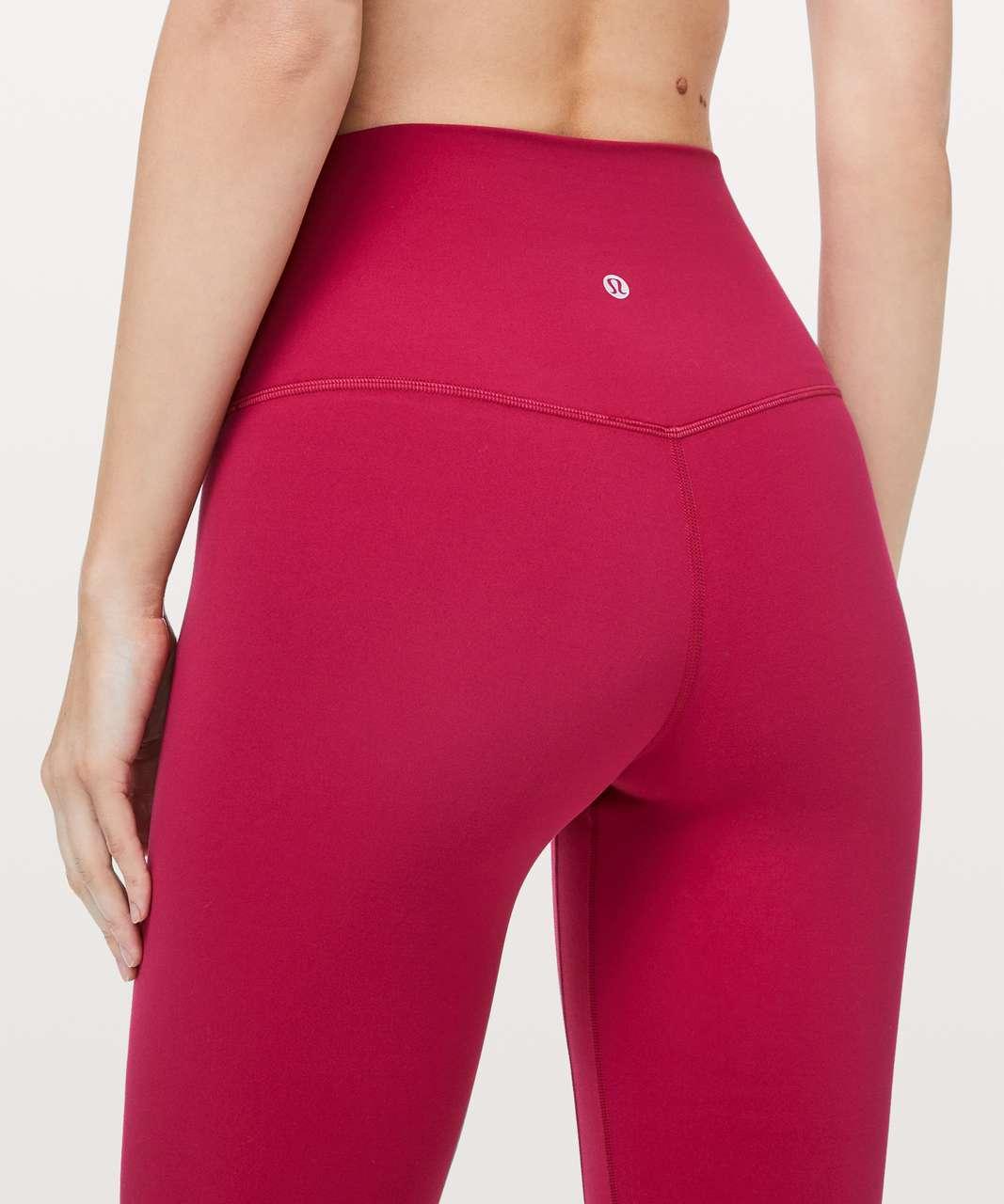 "Lululemon Align Pant II *25"" - Ruby Red"